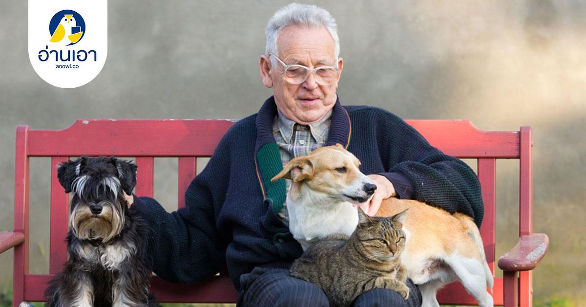 สัตว์เลี้ยงกับผู้สูงวัย