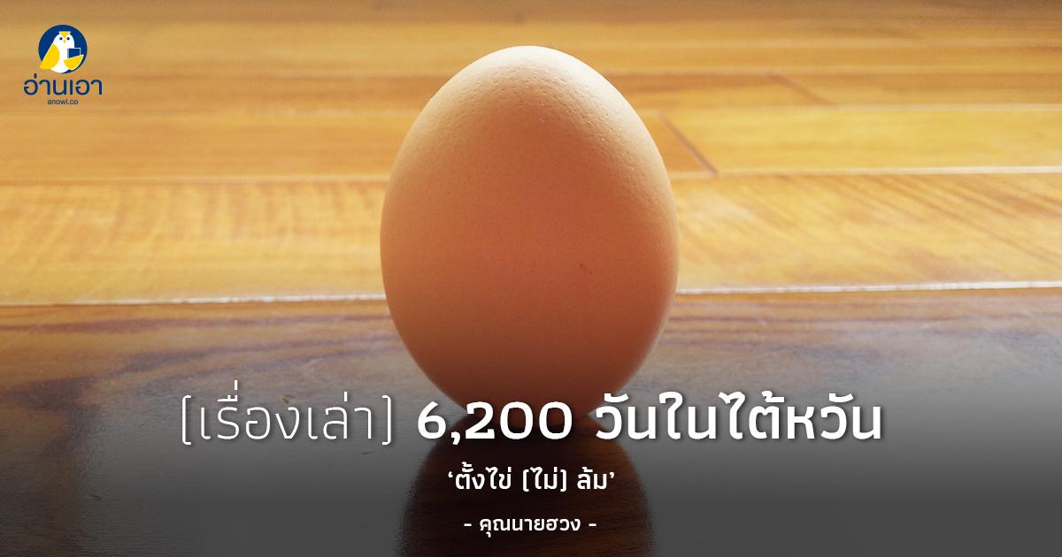 ตั้งไข่ (ไม่) ล้ม